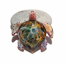 blown glass jewelry space neuron cosmic galaxy turtle gallery photo