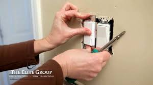 Install A Single Pole Dimmer Switch The Elite Group Property - Bathroom dimmer light switch