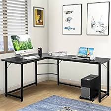 office desktop computer. Modren Desktop Modern Luxe LShaped Desk Corner Computer PC Table Workstation Home Office  Black Intended Desktop