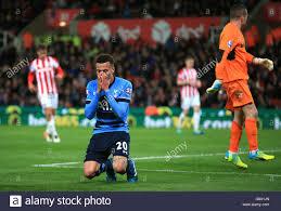 Stoke City v Tottenham Hotspur - Barclays Premier League - Britannia Stock  Photo - Alamy