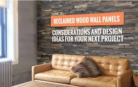 reclaimed wood panels for walls