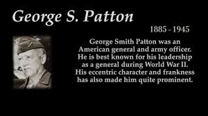 George S Patton Top 10 Quotes Youtube