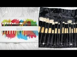 coastal scents brushes uses. coastal scents elite brush se bamboo collection | update \u0026 washing brushes uses