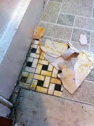 removing tile floor adhesive crumbly vinyl tiles best way to remove ceramic tile adhesive from wooden