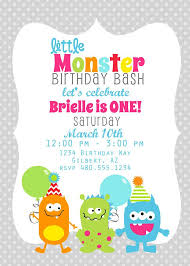 Lil Monster Birthday Invitations Printable Party Invitation Little Monster Birthday Or Baby Shower