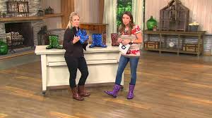 garden boots womens. Sloggers Waterproof Paw Print Garden Boot W/ Comfort Insoles With Dan Hughes - YouTube Boots Womens