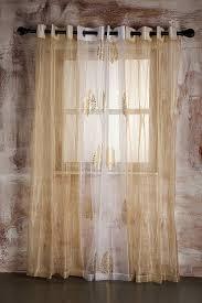 sheer curtain beige self striped door at low s in india in