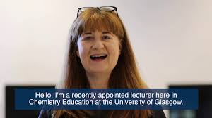 PGDE at School of Education - Chemistry Lecturer Dr Clare Smith - YouTube