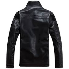 Designer Winter Jackets Us 83 88 40 Off Plus Size 4xl Fur Lined Leather Jacket And Coats Brand Designer Mens Fur Leather Winter Jackets Man Motorcycle Fur Outerwear In