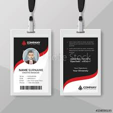 And Explore Stock Details This Adobe Red Similar Vector Buy Id Vectors Office Template - With Card At