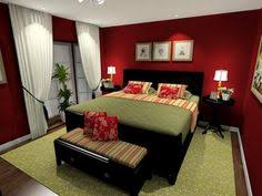 Red Paint Colors For Bedrooms Red Bedroom Paint With Green Accents Dark  Wood Furniture Itty
