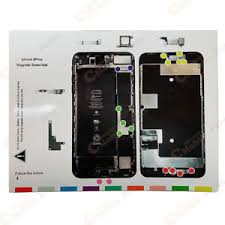 Iphone Screw Chart Details About Iphone 8 Plus Magnetic Screw Chart Mat Repair Guide Pad
