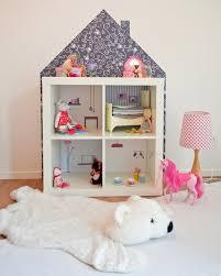 Ikea dolls house furniture Modern Ikea Hack Kallax Dollhouse Using Stickers Mommo Design Ikea Hacks With Limmaland Mommo Design