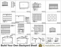 shed floor plans. First-Rate Storage Building Plans 16×24 1 Shed Floor