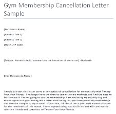Certified Letter To Cancel Gym Membership The Best Letter
