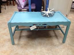 sold this coffee table has been updated with annie sloan provence paint and distressed 69