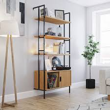 new hyde wall mounted bookcase with