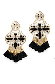 moroccan tile chandelier earrings by kate spade new york accessories for 20 the runway