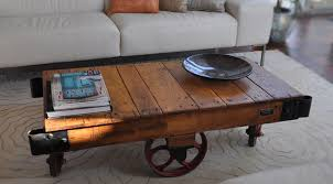 Caster Table Type C Rustic Coffee Tables Rustic Coffee Table With Wheels  Photo Pictures 2016 Ideas