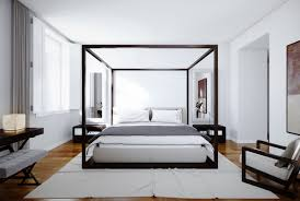 modern four poster bed king. Perfect Four Modern Canopy Bed King Size And Four Poster The Holland Bureau