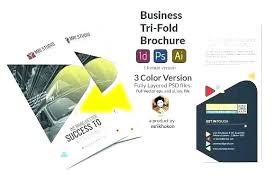 4 Panel Brochure Template Fold Brochure Template Illustrator New Legal Size Paper 4