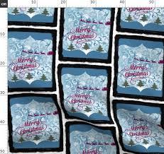 Christmas Swirls Fabric By The Yard Merry Christmas Swirls Ed