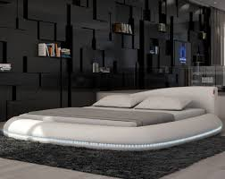 ... round bed price circle beds how to build platform stage contemporary  black leather headboard king by ...