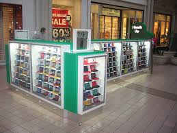 Hat Vending Machine Mesmerizing Hat Mall Kiosk Displays For Heads Up Hats Retailers And Capland