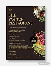 72 Restaurant Flyer Templates Word Pdf Psd Eps