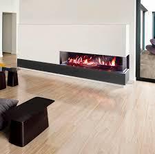 gas fireplace insert 2 sided venezia 90 130 corner