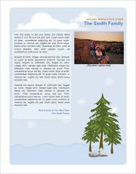 Get 7 Family Newsletter Templates Free Word Documents Top
