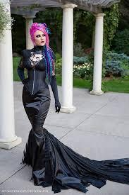 gothic mermaid fetish dress vampire dark goth wedding