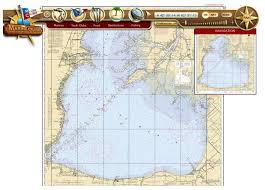 Free Fishing Charts Lake St Clair Chart Free Internet Access Capt Wayne