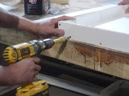 Pouring concrete counter tops Sink How To Pour Simple Concrete Countertop Biketothefutureorg How To Pour Simple Concrete Countertop Howtos Diy