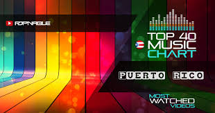 Puerto Rico Charts Top 40 Music Charts From Puerto Rico Popnable