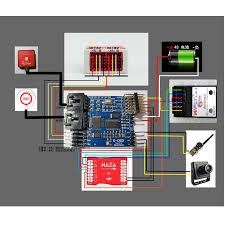 naza m v2 wiring diagram naza image wiring diagram s osd iosd remzibi osd module for dji naza m lite v1 v2 flight on naza wiring diagram