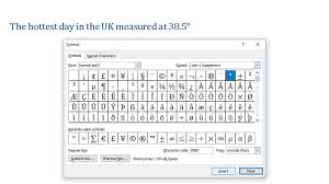 degrees symbol on your keyboard