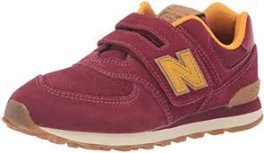 New Balance Boys Iconic <b>574 Hook and</b> Loop Sneaker: Amazon.ca ...