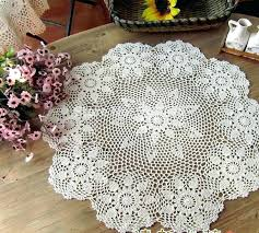 coffee table cloth coffee table cloth essential handmade crochet flower round coffee rectangular tablecloths waterproof coffee coffee table cloth