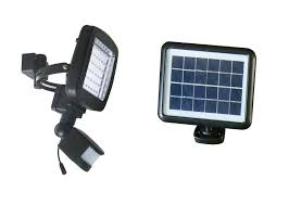 Cinoton Solar Lights 49 LED Outdoor Security Lighting Sensor Wall Solar Sensor Security Light