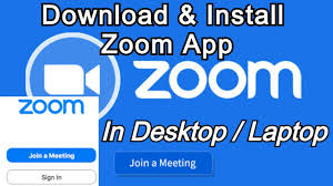 How To Download and Install Zoom App in Laptop/PC - YouTube