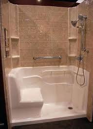 seated shower kits walk in shower kits with seat their most popular s is the seated