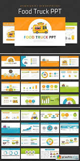 Free Food Powerpoint Templates Food Truck Ppt Powerpoint Templates Free Download Vector