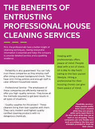 household cleaning companies there are several benefits to hiring a professional house