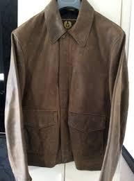 mens belstaff clothing very rare leather indiana jones leather jacket hot cake mt4212