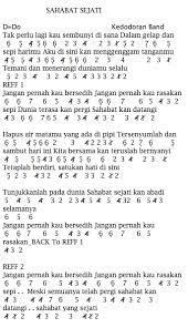 Dalam gelap dan sedih harimu. Not Angka Pianika Lagu Kedodoran Band Sahabat Sejati Ost Yang Masih Dibawah Umur Rcti Not Lagu Not Angka Indonesia Terlengkap 2020