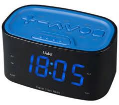 <b>Часы</b>-радио <b>Uniel Utr</b>-<b>33bbk</b> (черный) (<b>UTR</b>-<b>33BBK</b> цвет свечения ...
