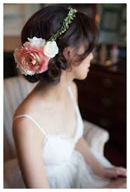 Flower Hair Style silk & flowers hairstyle ideas girls 2037 by wearticles.com