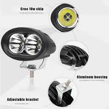 20w Cree Led Work Light 2pcs 20w Cree Led Work Light 4inch Led Driving Light For Motorcycle Off Road Suv