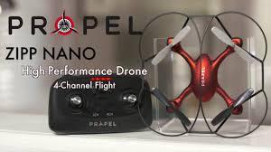 propel zipp nano high performance drone 4 channel flight training